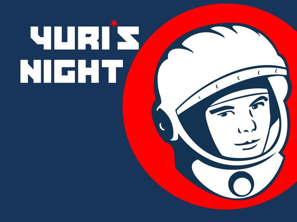 April 12th 2018 - Yuri's Night Space Party -