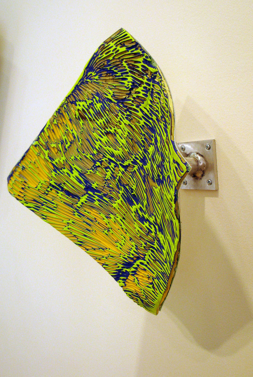 "Battuto Series 2013<br> ""Everglades"" 2013 Bork McColl <br>Image #7 Everglades small side view"