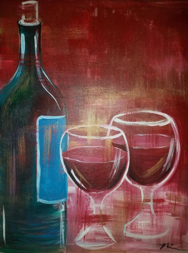 December 9th @ 7pm - Public Paint- $30 Covers all supplies and materials.Artist: Nina J | Instructor: Nina J