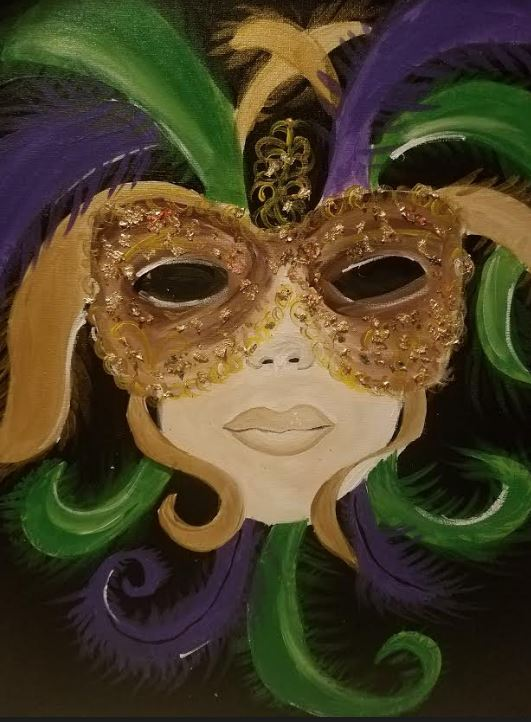 February 9th @7pm - Public Paint-$30 Covers all supplies and materials.Artist: Nina J | Instructor: Nina J