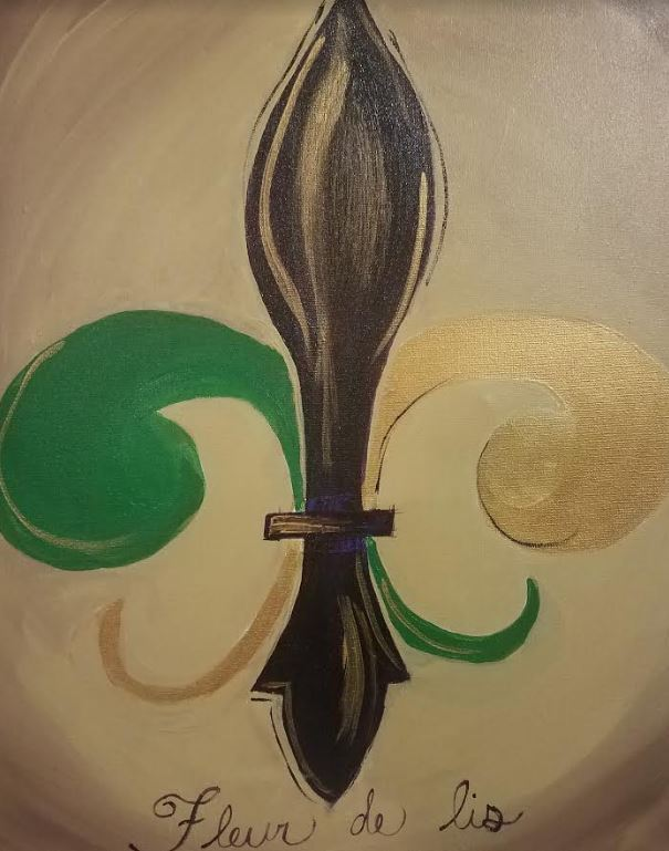 January 19th @ 7pm - Public Paint-$30 Covers all supplies and materials.Artist: Nina J   Instructor: Nina J