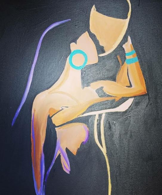 July 7th @ 7:00p - Public Paint - $30 Covers all supplies and materials.Artist: Nina J   Instructor: Nina J