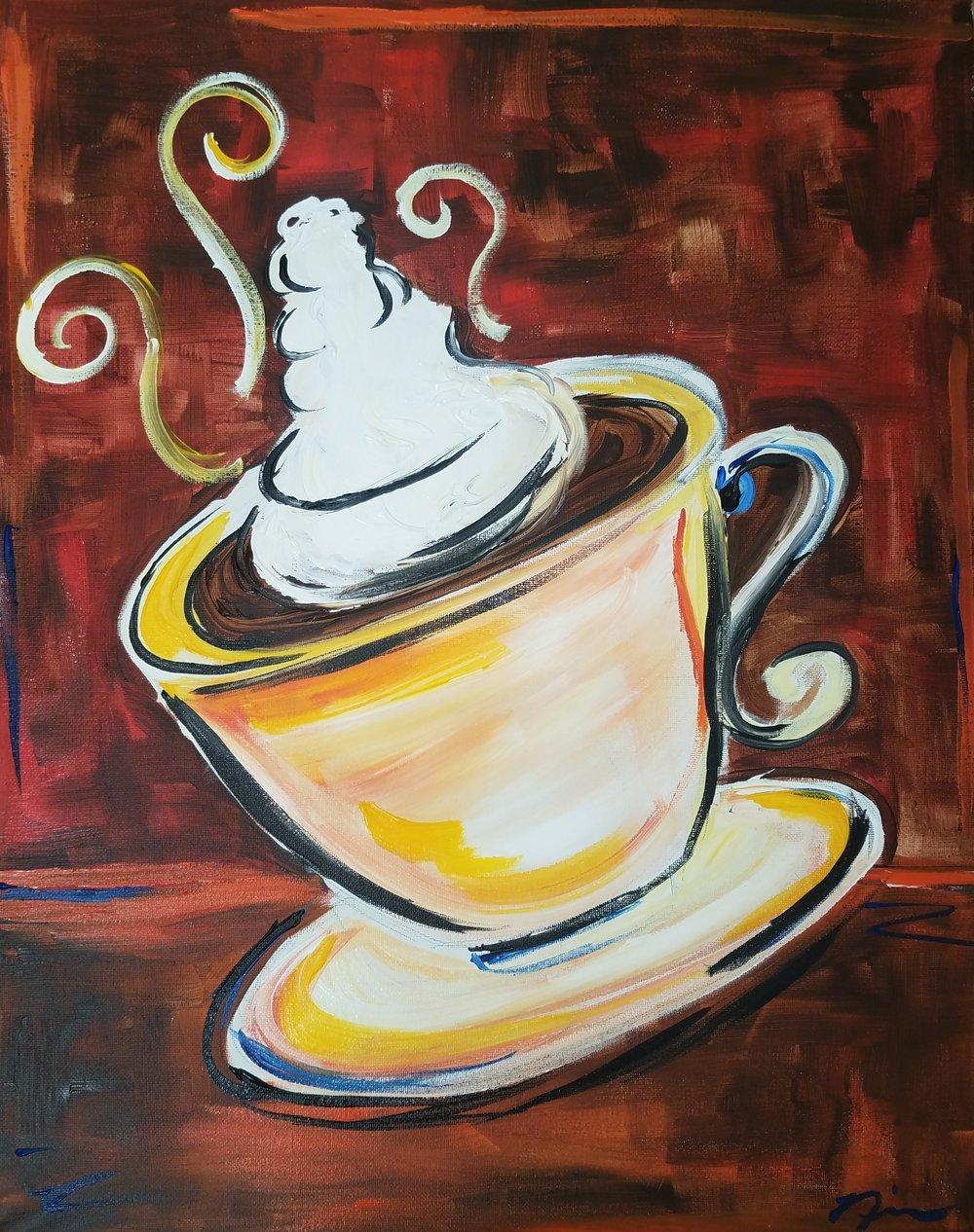 December 7th @ 8pm - Instructor: Nina | Artist: Nina