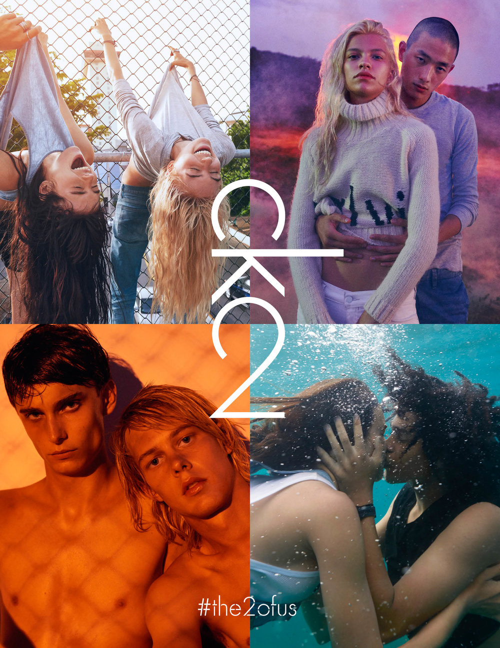 ck2 x calvin klein - a new scent for #the2ofus by calvin klein