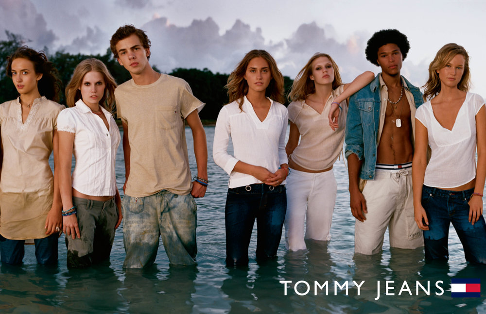Enrique Mosqueda, creative director  archive portfolio - tommy hilfiger - mustique advertising campaign