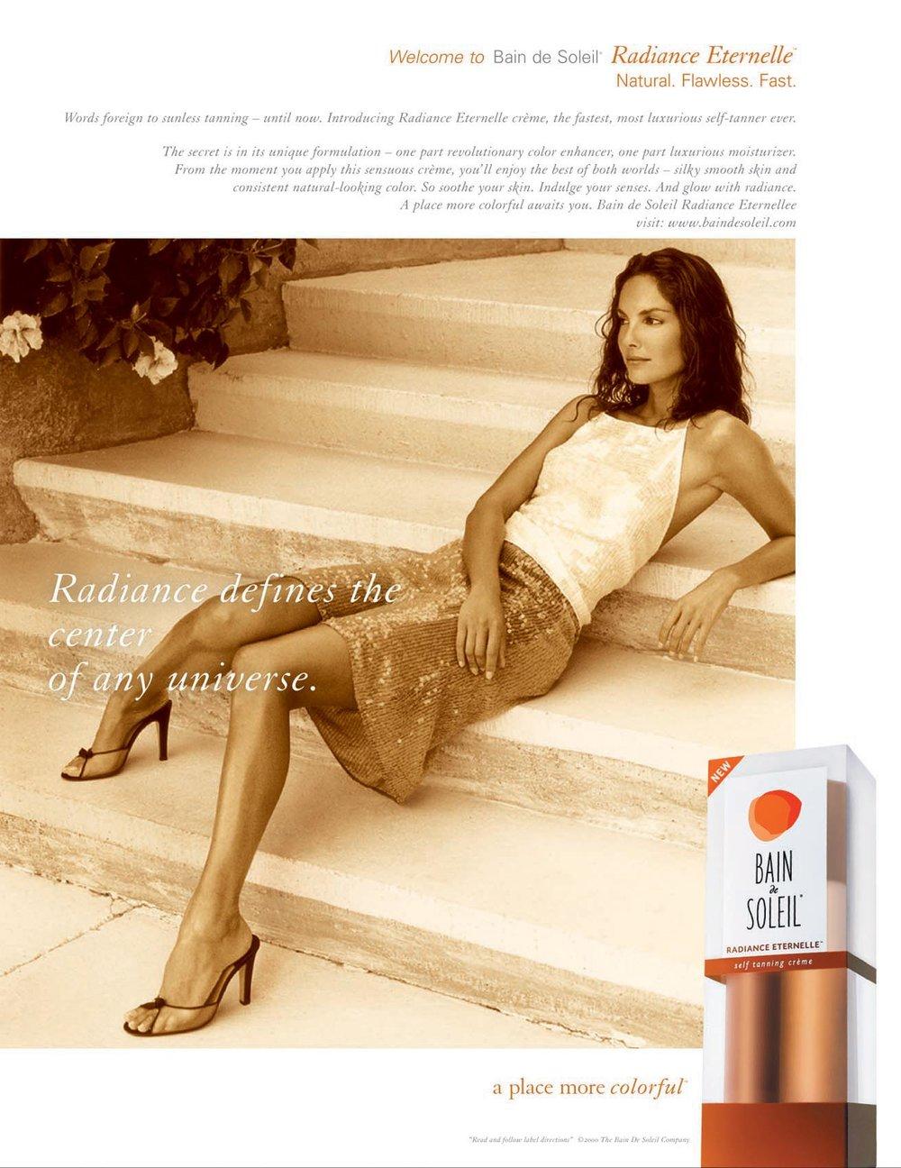 Enrique Mosqueda, creative director  archive portfolio - Bain de Soliel -advertising campaigns