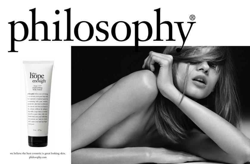 Enrique Mosqueda, creative director  archive portfolio - Philosophy -advertising campaigns