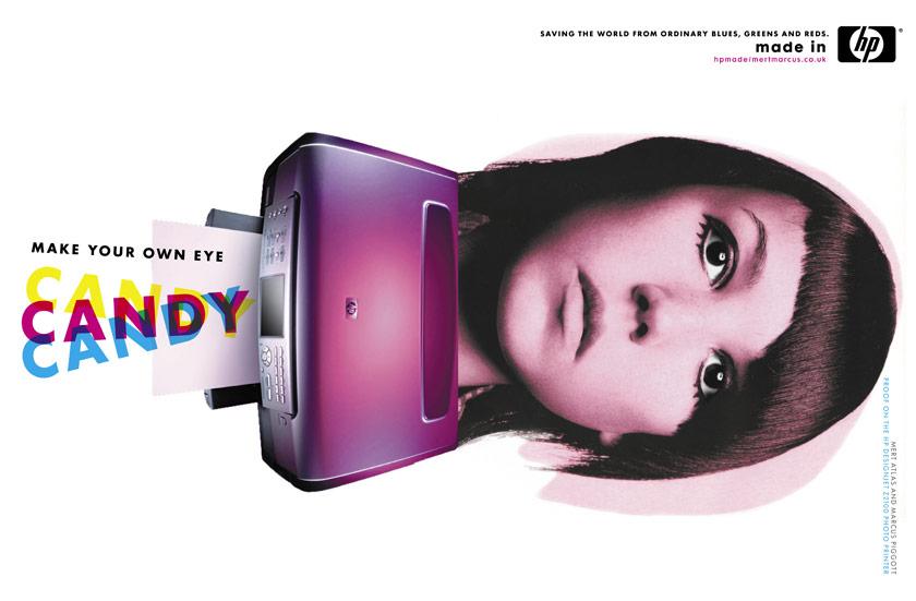Enrique Mosqueda, creative director  archive portfolio - HP advertising campaign