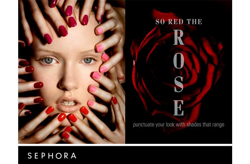 Enrique Mosqueda, creative director  archive portfolio - Sephora -advertising campaigns