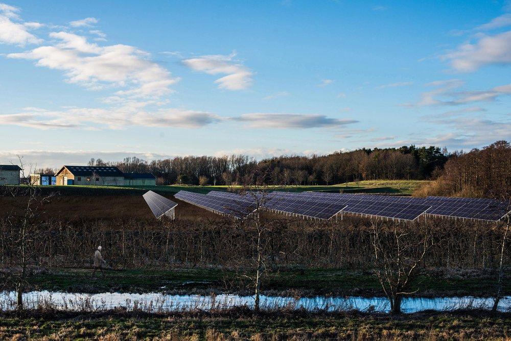Solceller Regnemarkværket