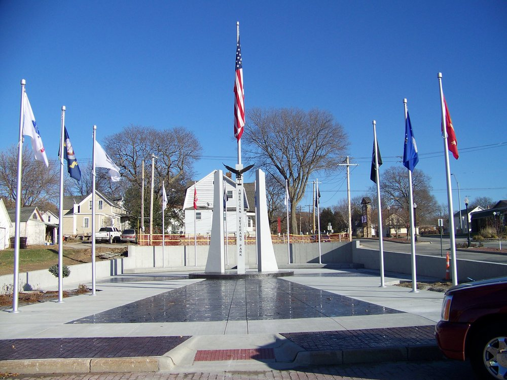 Photo courtesy of the  American Veterans Park   Additional installations and details will be added now that phase one of the project has been completed.