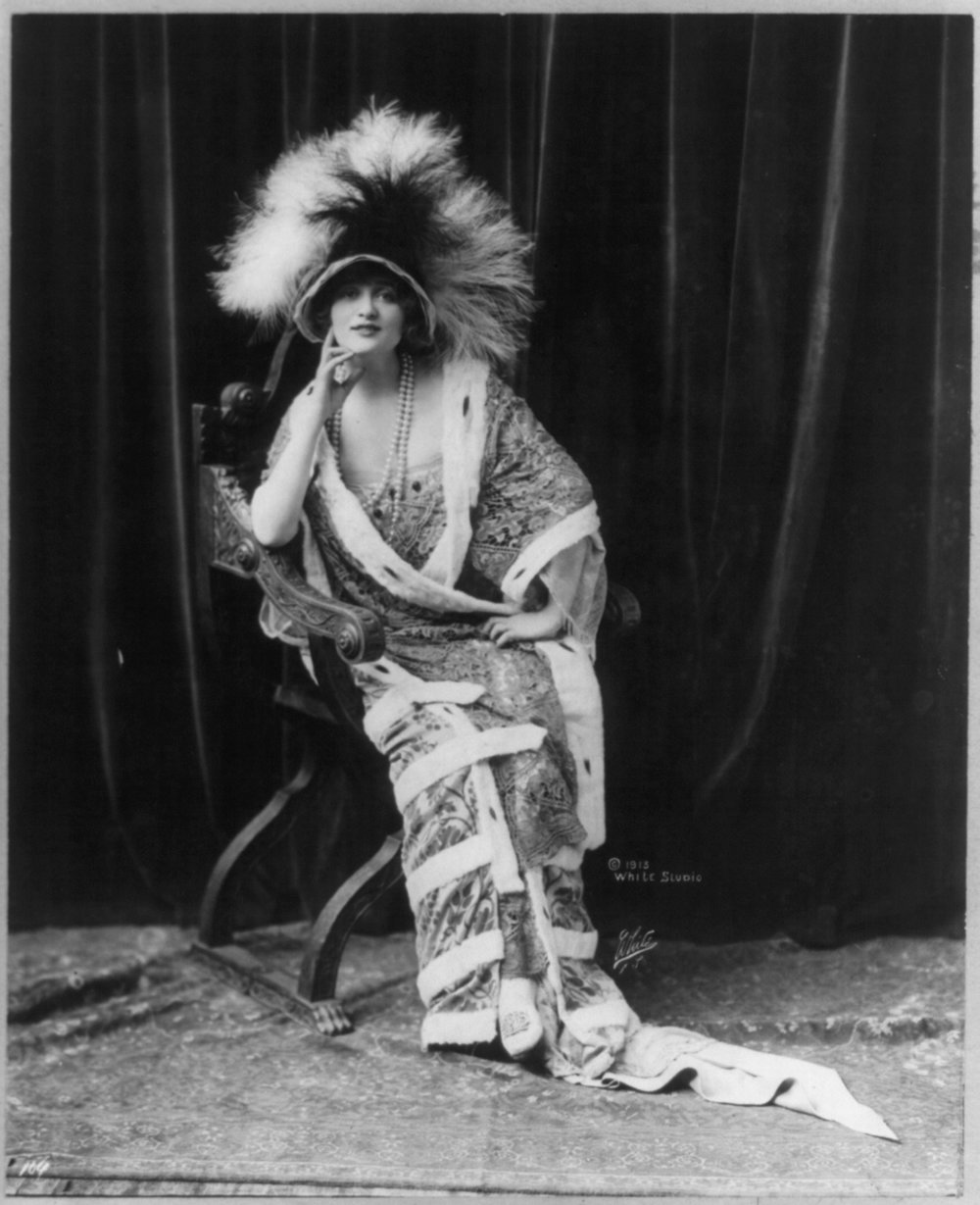 U.S. LIBRARY OF CONGRESS   In the late 1800s and early 1900s, bird feathers were all the rage in women's fashion in the U.S. and Europe. Along with the destruction of habitats, over-hunting nearly led to the extinction of many species of birds.