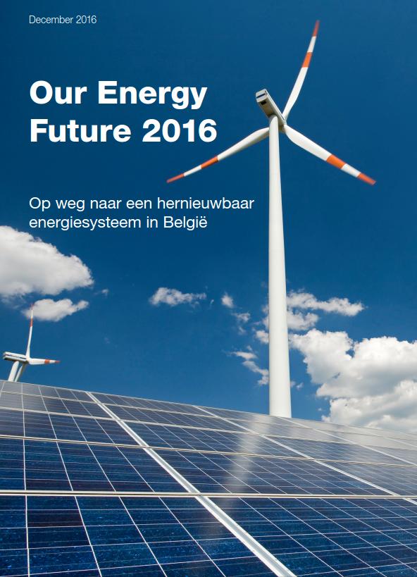 Our Energy Future 2016 is het  meest recente elektriciteitsscenario  gericht op  2030  van de milieubeweging.