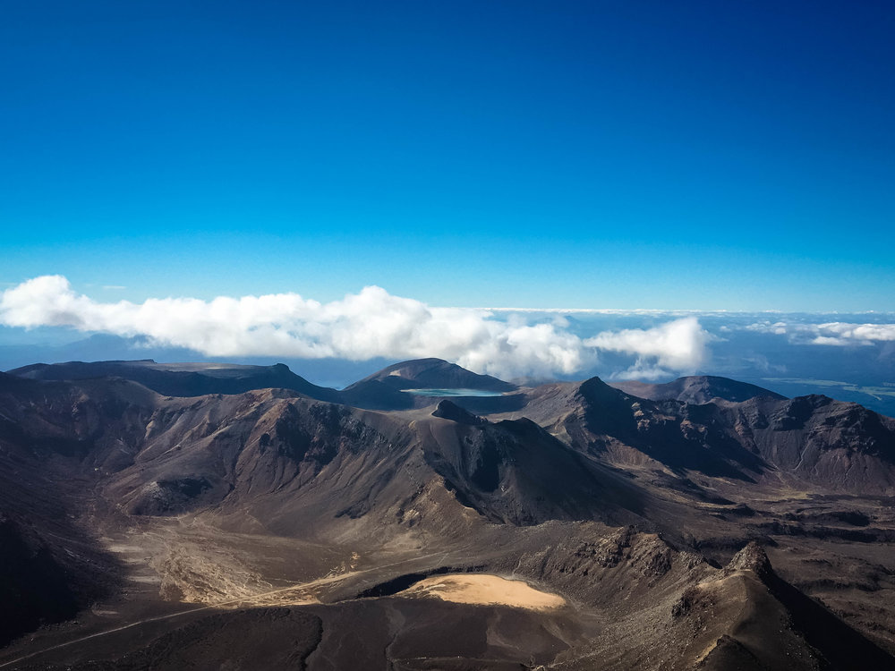 """On the summit of Mount Ngauruhoe or """"Mount Doom"""" (for all you Lord of The Rings fans), North Island"""