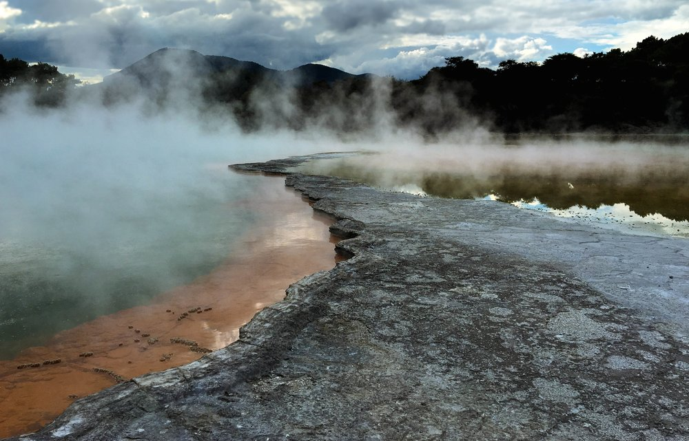Waiotapu Thermal Wonderland, Rotorua, North Island.