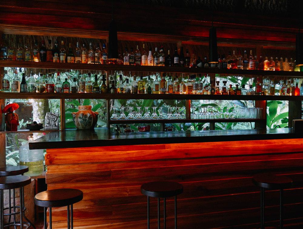 Bar at Mayabell hotel
