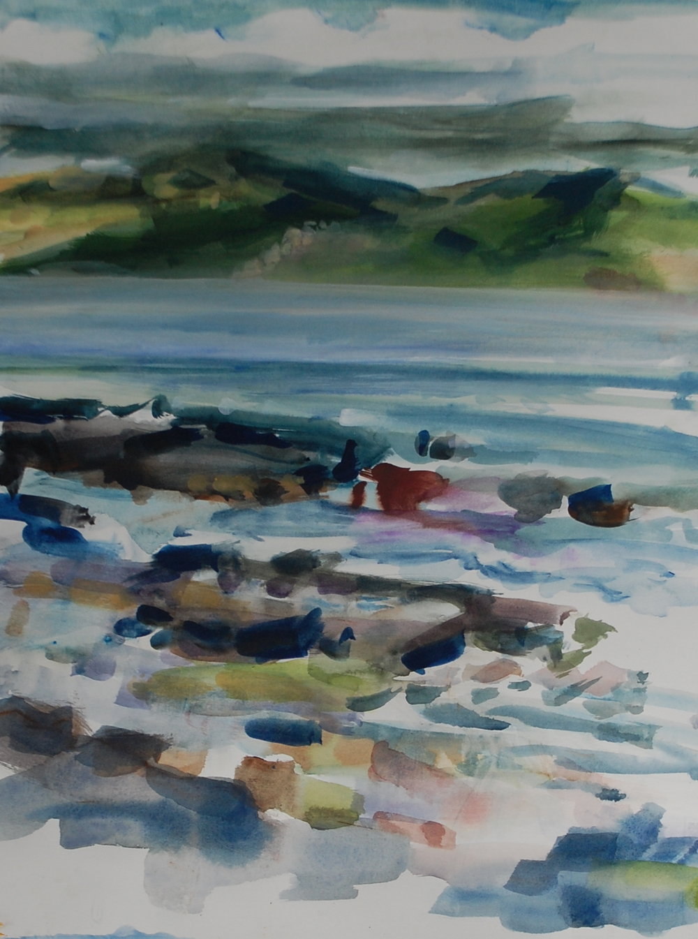 Across to Faial, study