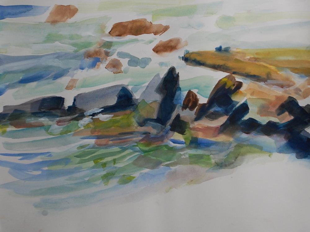 Pool's Edge, Pico Island, study