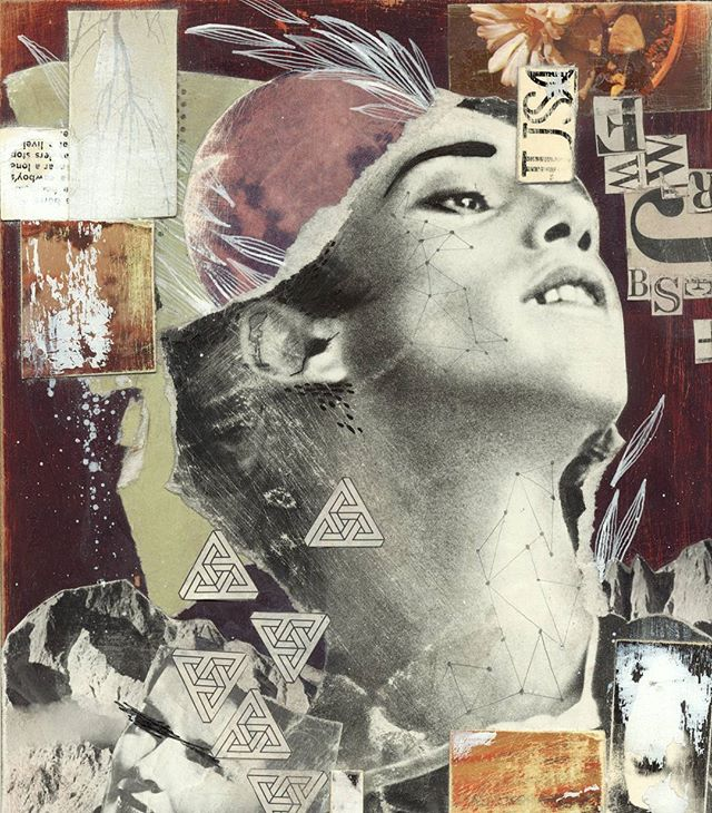 #collage #mixedmedia #art