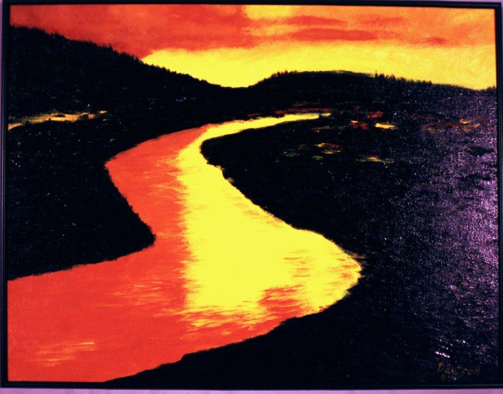 Fire Ball River