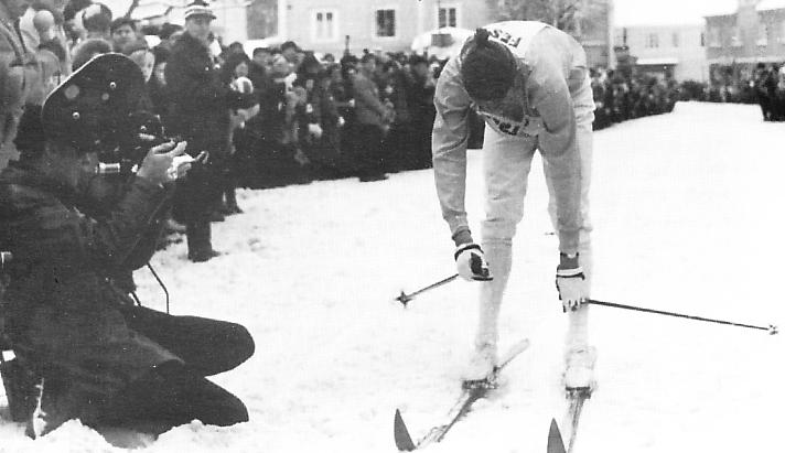 Sören Linder, 2:a i premiärloppet 1969