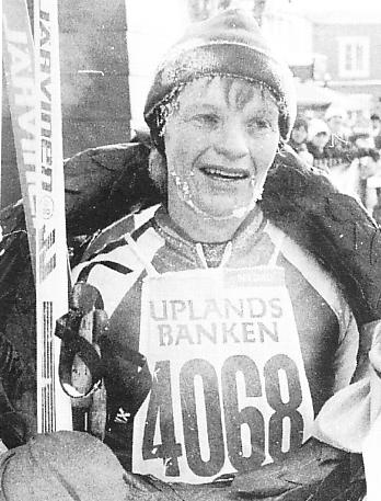 Eleonor Eriksson sexfaldig segrare.