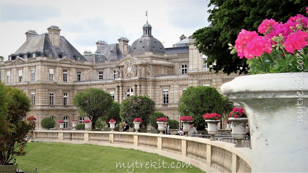 The Senate Building, Paris