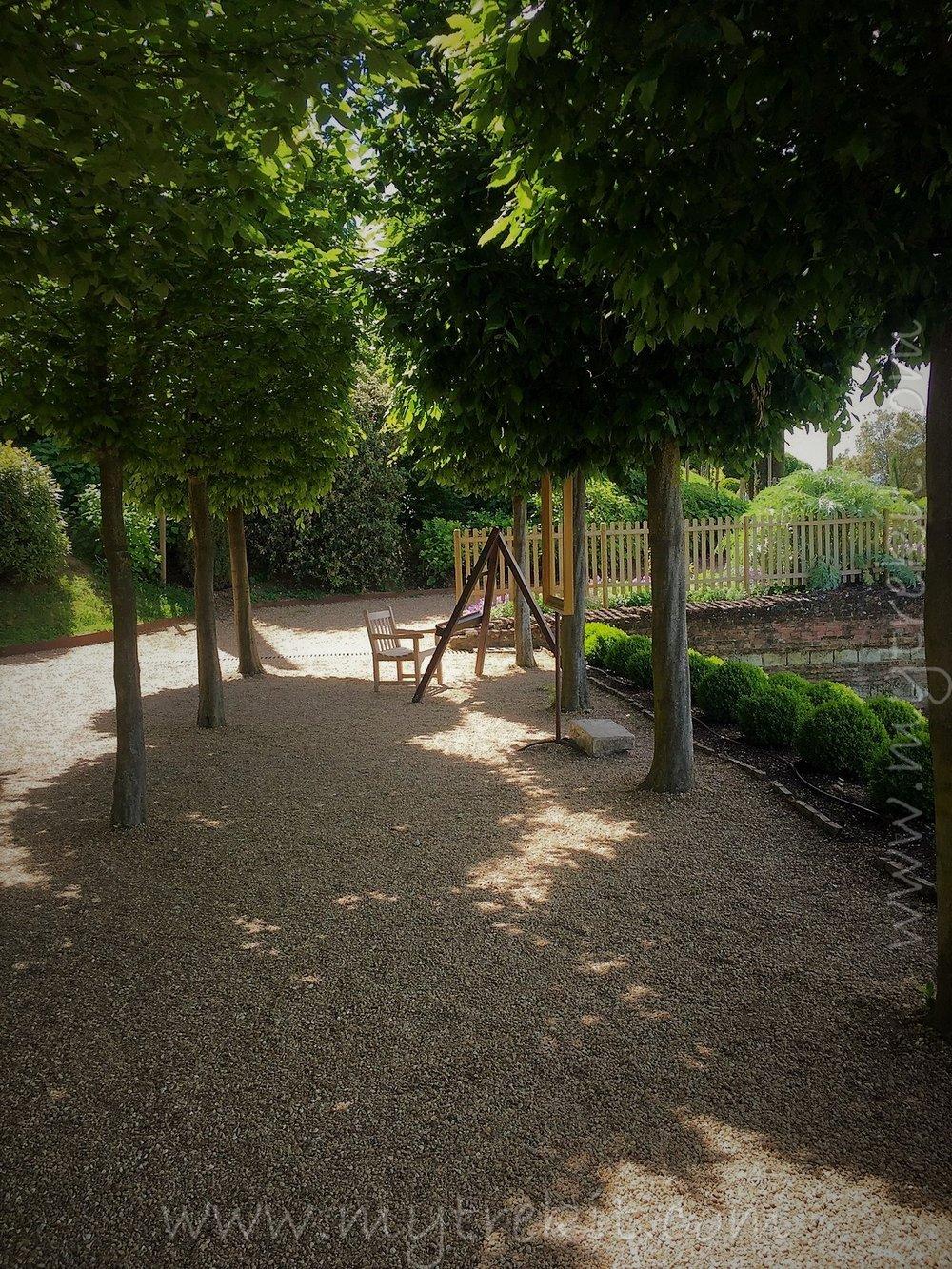 Italian-style topiary arbor