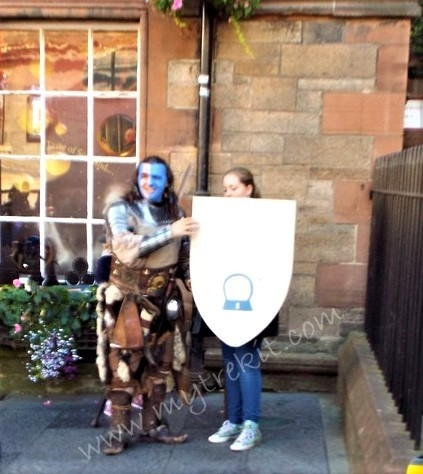 Braveheart on Royal Mile.JPG