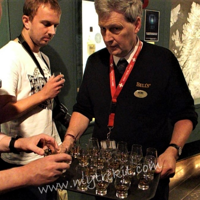 The natural end to a Whisky Tour is the tasting.
