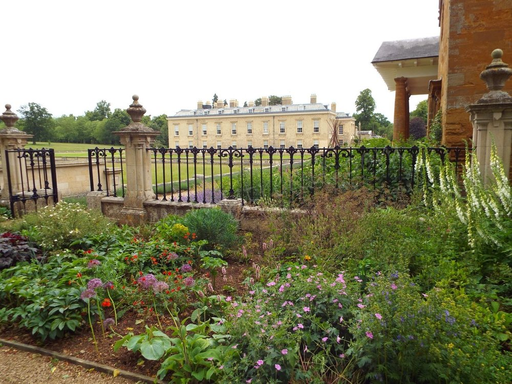 A look at Althorp from the Stables area.