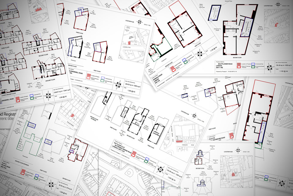 Lease plan drawing