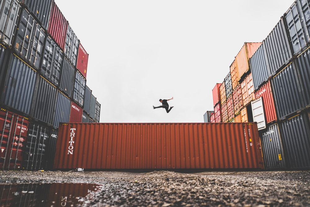 Leap Over Logistics Hurdles at a Single Bound. -