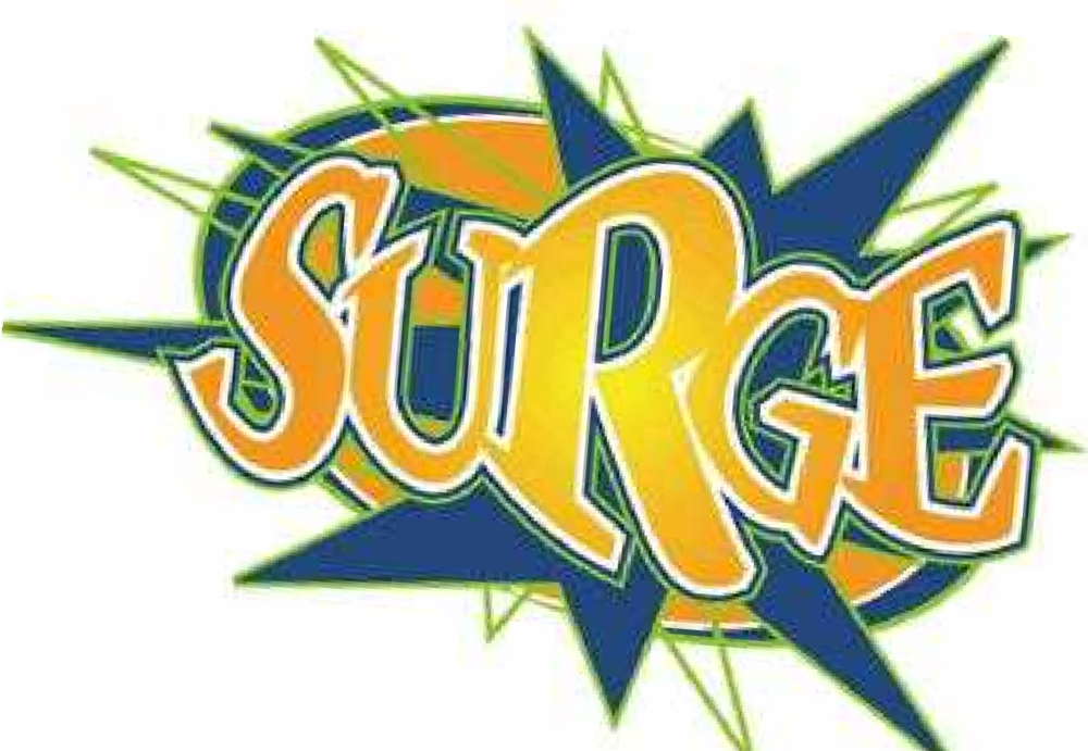 SURGE SUMMER SCHEDULE WILL BE JUNE 8TH & 22ND, JULY 13TH AND 20TH AND AUGUST 3RD, 17TH & 24TH.  WE WILL START BACK UP WITH OUR REGULAR SCHEDULE ON SEPTEMBER 7TH.