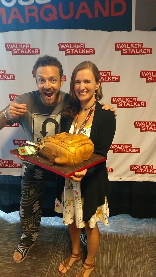 Ross Marquand is the most sweetest and caring individual I had the honor of meeting and making a birthday cake for.