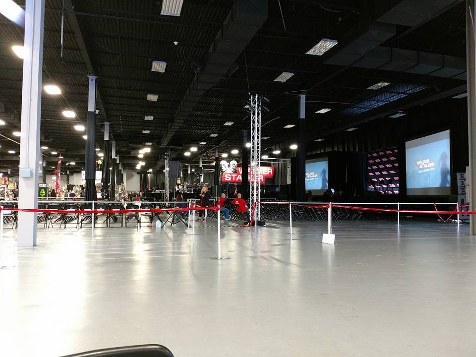 the calm before the storm on the last day of walker stalker con new jersey 2018
