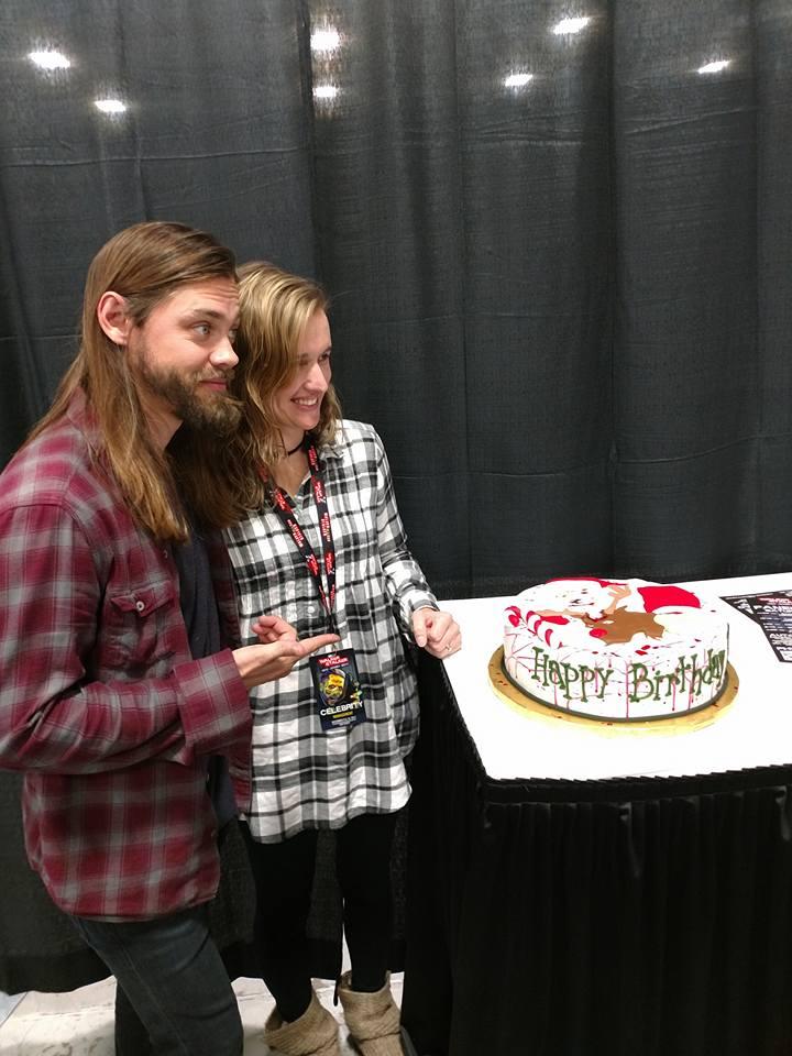 cake for tom payne (plays jesus)
