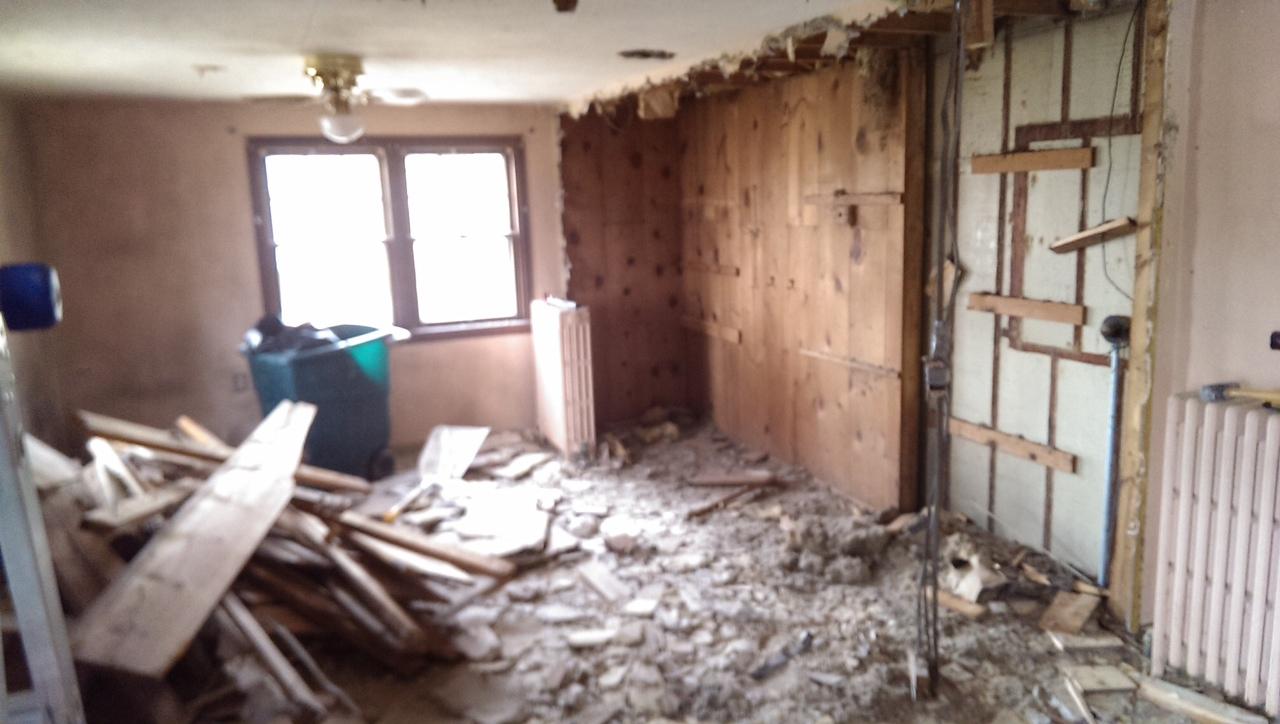 Post closet destruction
