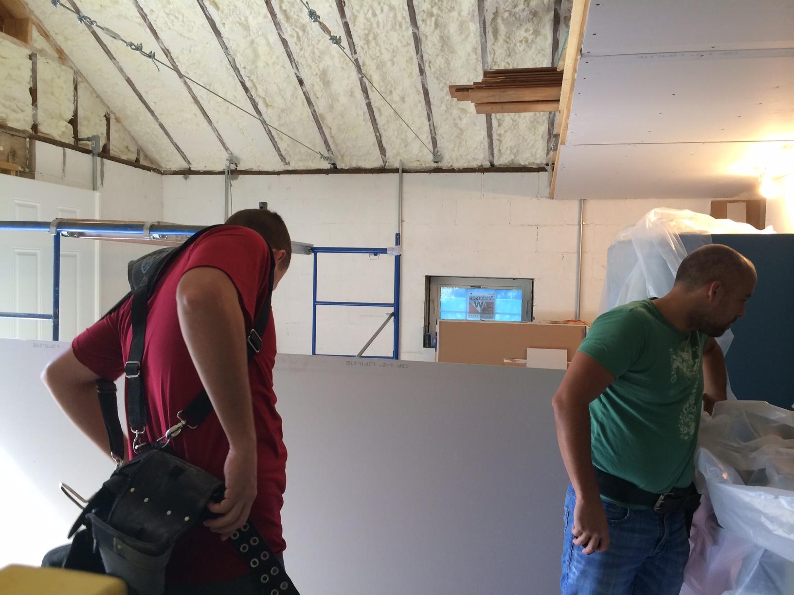 Bunker Drywall 12