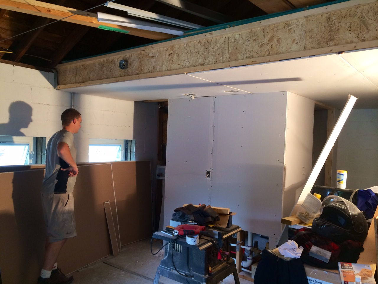 Bunker Drywall 7