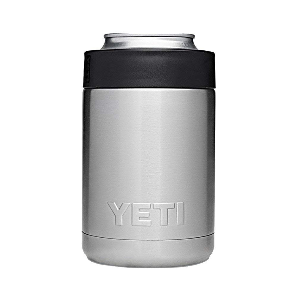 Yeti Rambler - For bottles or cans, this koozie keeps drinks cold. For Derek, it's nice for him to not have a wet drink between his legs when he is wheeling around!