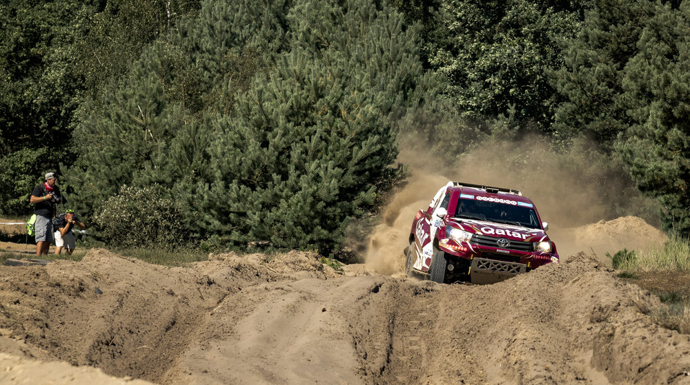 Nasser Al-Attiyah (Toyota Hilux Overdrive)