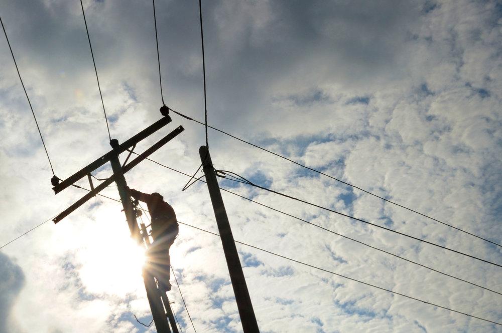 power line repar