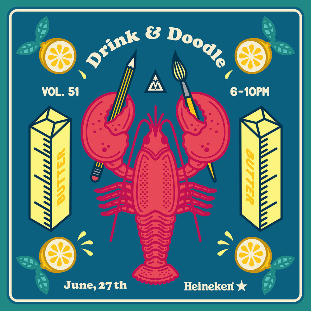 Drink & Doodle 51