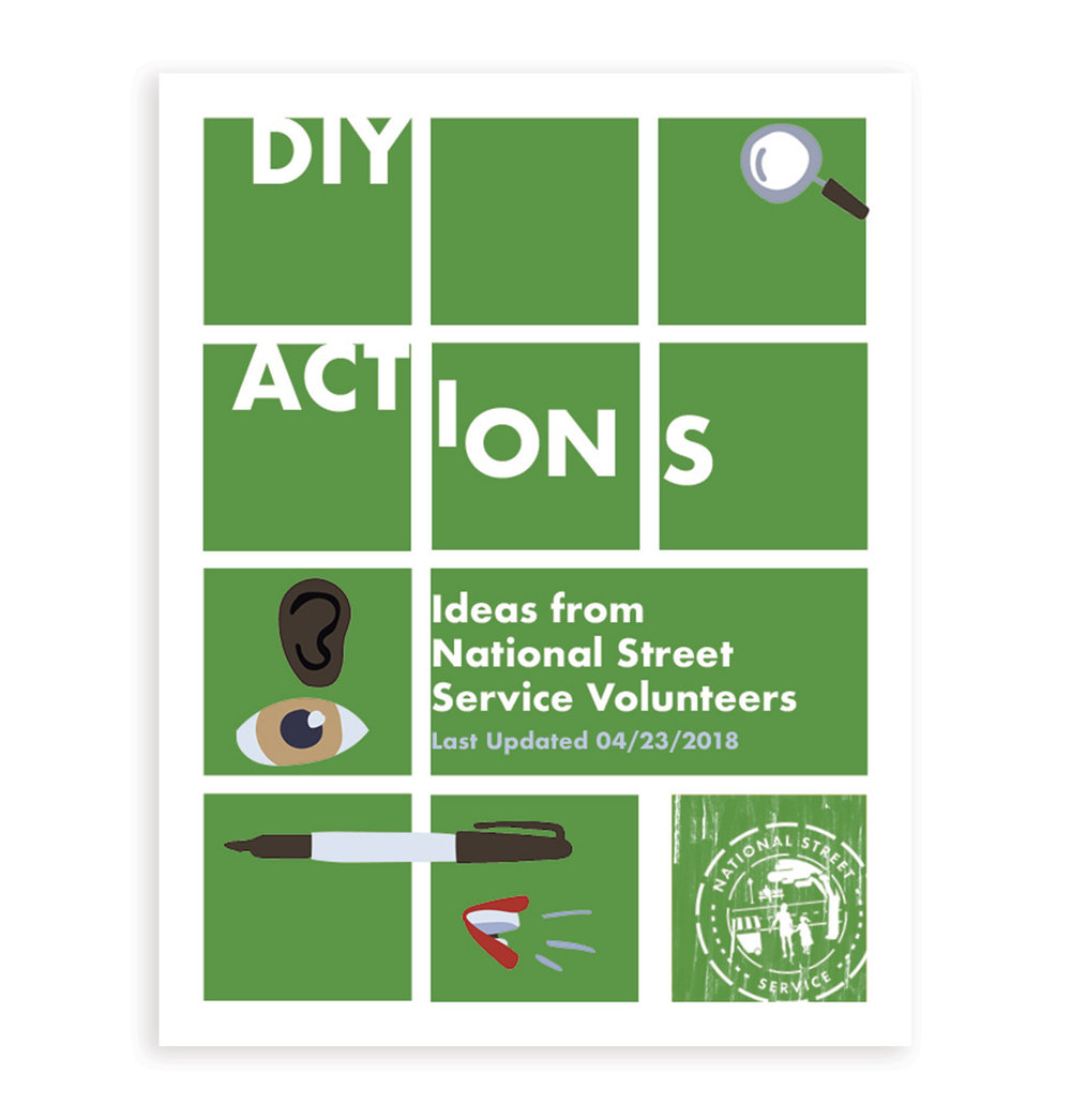 DIY Actions by National Street Service Volunteers