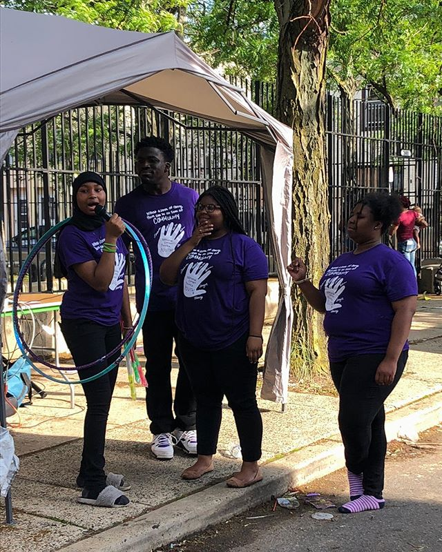 Let's hear it for the youth —who will be presenting tonight!!! @nss._youth #nationalstreetservice 5pm at the Center for Architecture, 1218 Arch Street