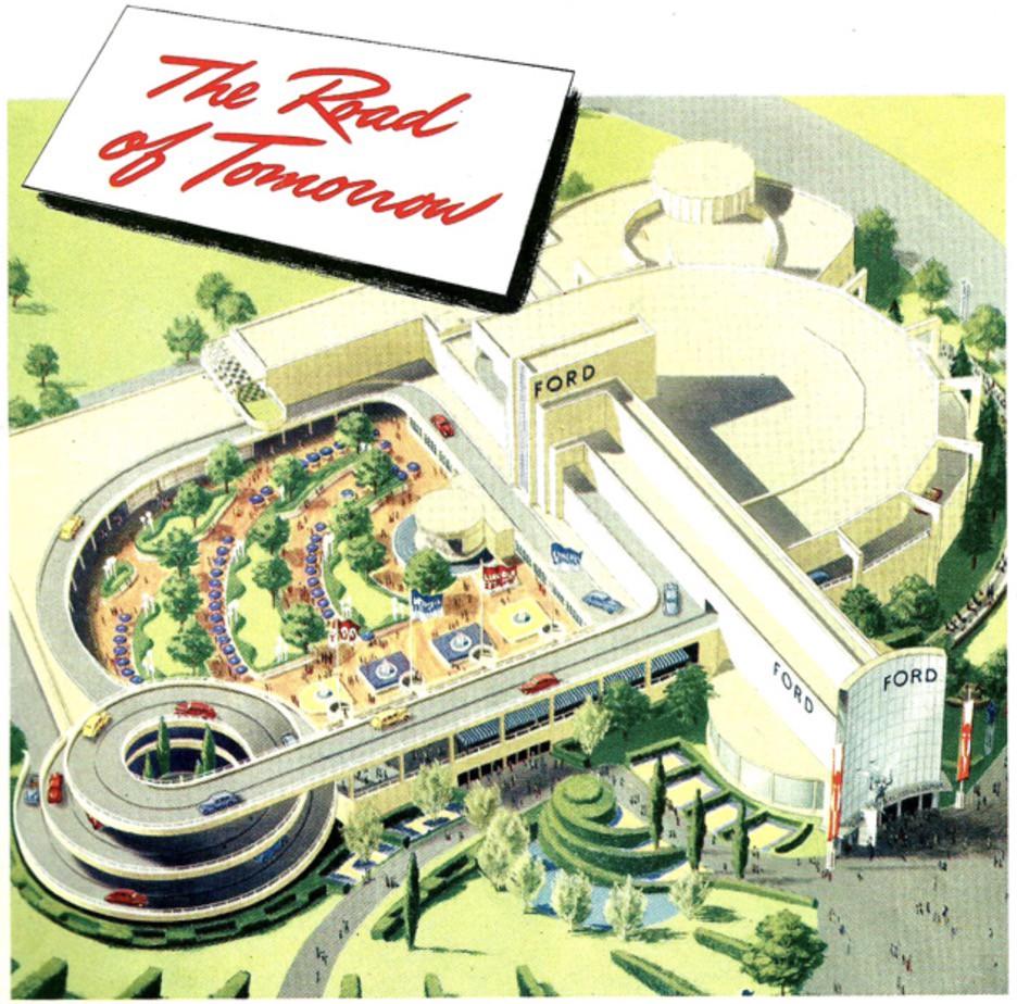 1939 New York World's Fair Ford Brochure cover image
