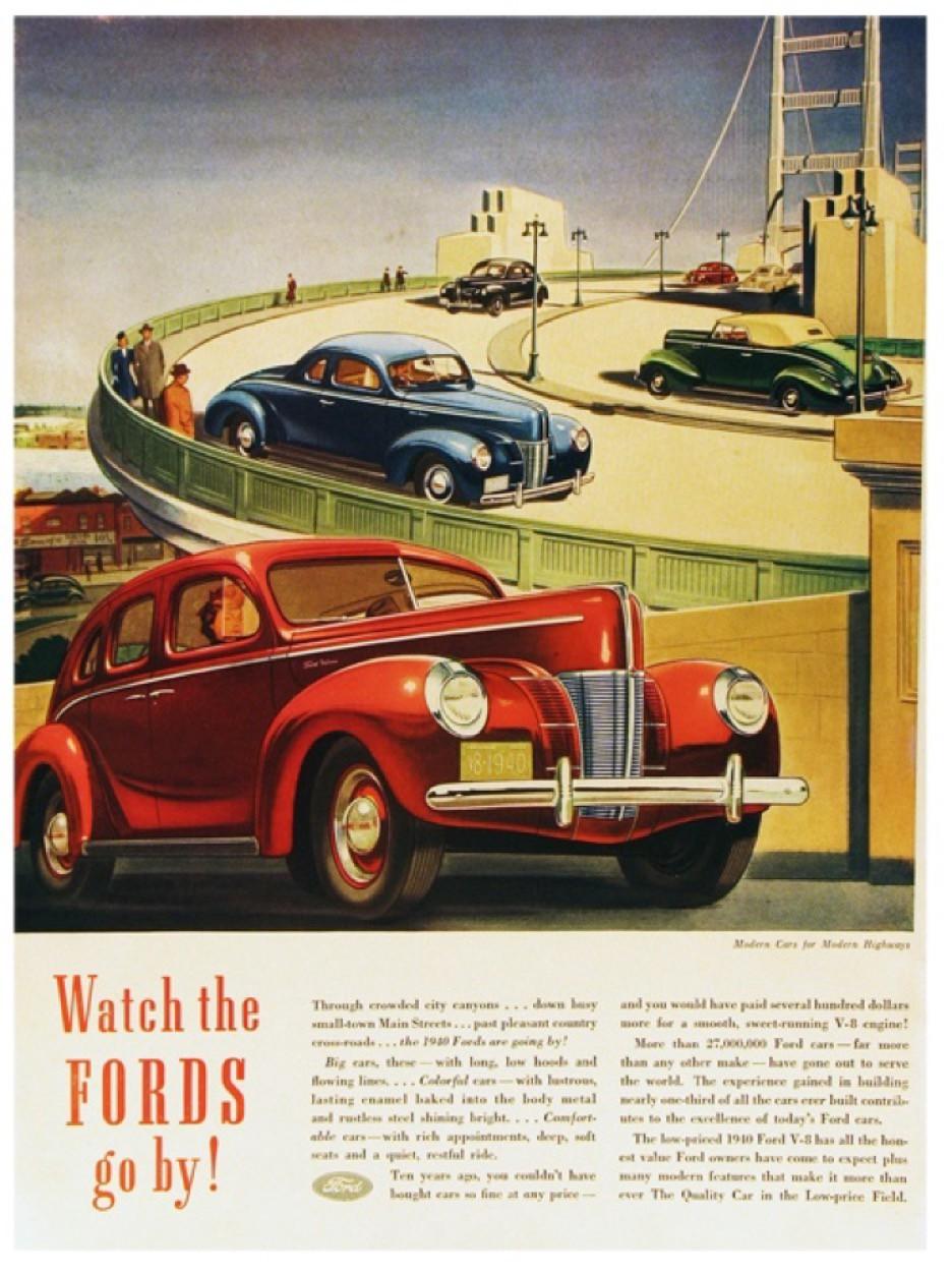 Ford tagline: Modern Cars for Modern Highways
