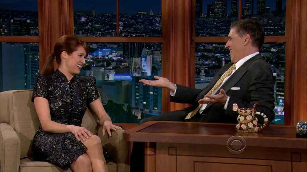 Late Late show with Craig Ferguson CBS - DH Hair  Male Grooming - Hair: Craig Ferguson  Hair: Ellie Kemper