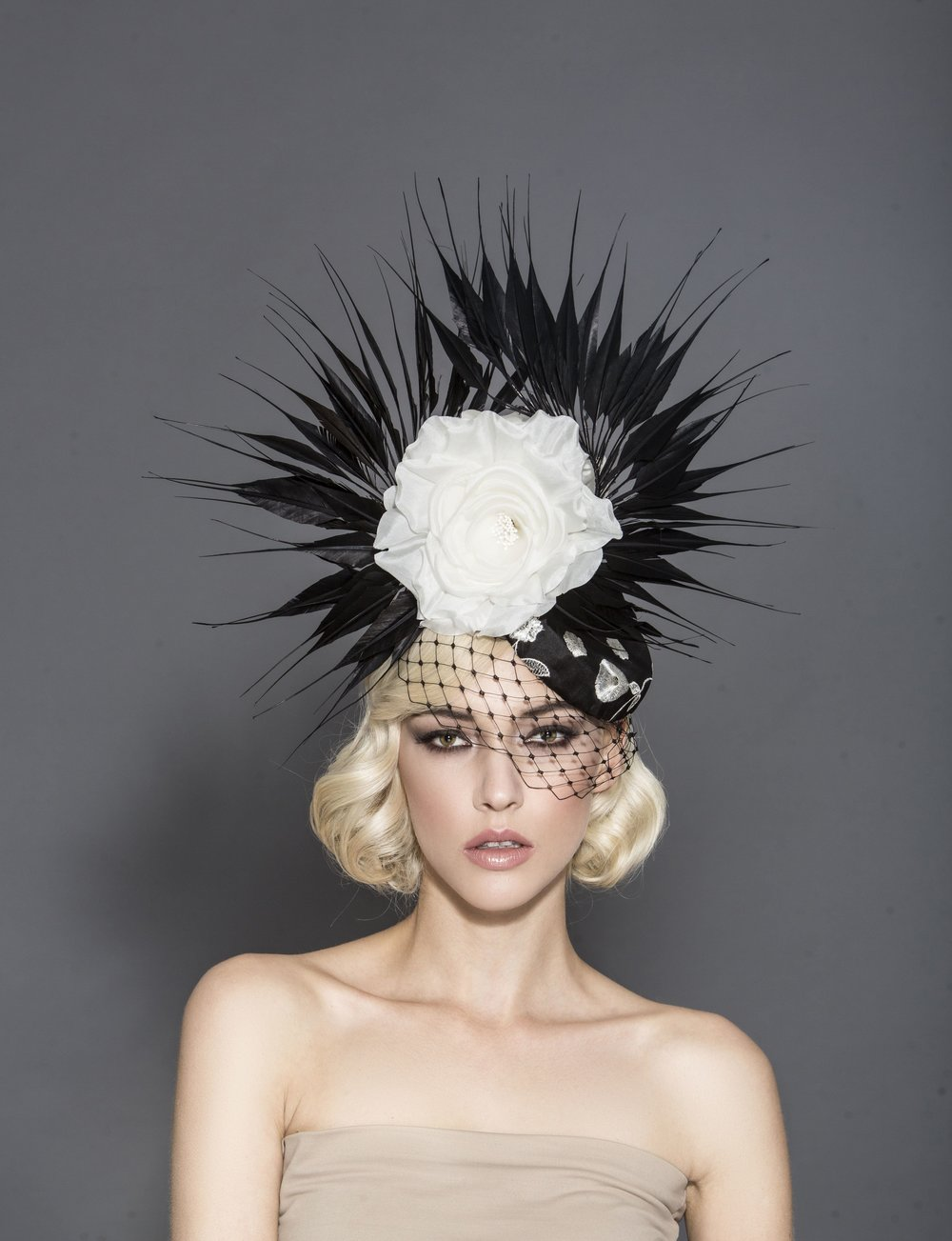 Hat designer: Arturo Rios  Photographer: Mark Sacro  Model: Stefanie Michova  Makeup: Teodoro De Jesus  Hair: Tuyen Tran